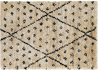 Dash & Albert Doti Jute Rug - Natural/Deep Ink 5'x8'