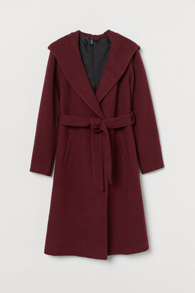 H&M Hooded Coat - Red
