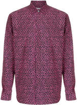 Valentino micro star print shirt