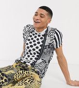 Asos Made In MADE IN KENYA t-shirt in leopard stripe print