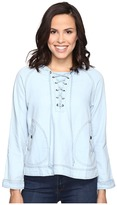 Romeo & Juliet Couture Long Sleeve Short Hooded Jacket
