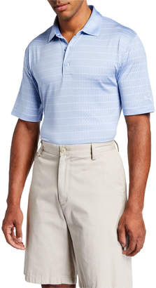 Callaway Men's Striped Opti-Vent Open Mesh Polo Shirt