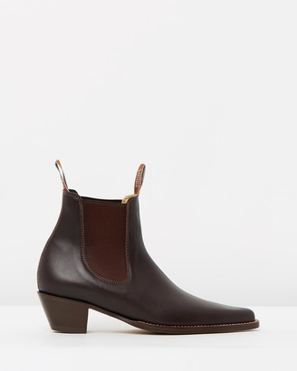 R.M. Williams R.M.Williams - Women's Brown Chelsea Boots - Womens Millicent Boots - Size 7 at The Iconic