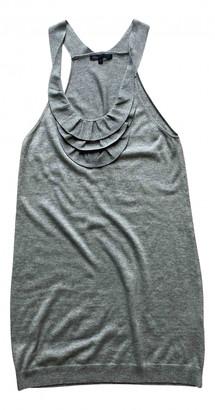 Maje Grey Silk Dresses