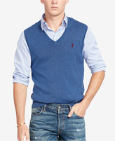 Polo Ralph Lauren Men's Pima V-Neck Vest