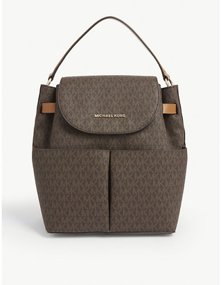 MICHAEL Michael Kors Bedford pebbled leather backpack