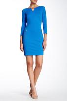 Tahari Knit Shift Dress
