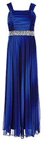 Xtraordinary Big Girls 7-16 Ombre Pleated Embellished Dress