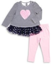Kids Headquarters Toddler's & Little Girl's Two-Piece Tunic & Leggings Set