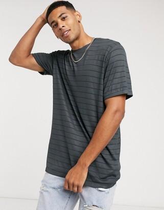 Topman mesh t-shirt in gray