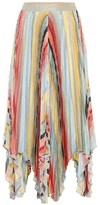 Missoni Striped knitted midi skirt