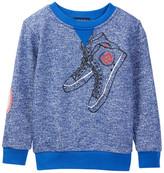 Andy & Evan Sneaker Print Sweatshirt (Toddler & Little Boys)