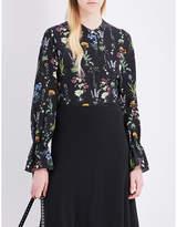 Altuzarra Christina silk blouse