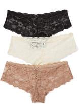 Honeydew Intimates Camellia Hipster 3 Pack Panties