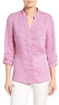 Nic+Zoe Women's Drifty Linen Shirt