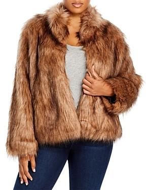 Unreal Fur Plus Size Delish Faux Fur Jacket