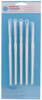 Martha Stewart Crafts Detailing Brush Set Ergonomic Soft Grip Handles Painting