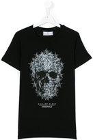 Philipp Plein skull print T-shirt - kids - Cotton - 14 yrs