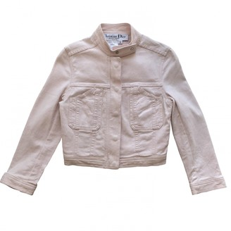 Christian Dior Pink Cotton Jacket for Women Vintage