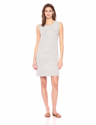 Daily Ritual Amazon Brand Women's Cozy Knit Muscle Sleeve Dress
