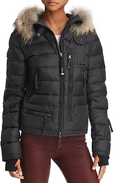 Parajumpers Skimaster Fur Trim Down Coat