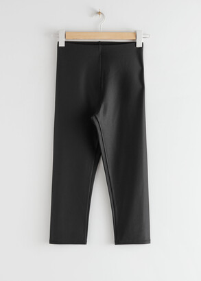 And other stories Ribbed Cropped Tights