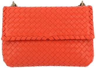 Bottega Veneta Crossbody Bags Crossbody Bag Olimpia Small With Sliding Chain Shoulder Strap And Woven Pattern