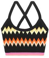Missoni Activewear knitted sports bra