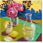 Susan Webster Lemon Water Canvas Wall Art