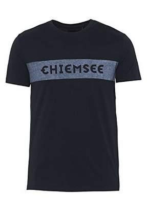 Chiemsee Men's Kurzarm mit Logo aus GOTS-zertifizierter Produktion T-Shirt,M