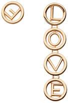 Fendi Love earrings