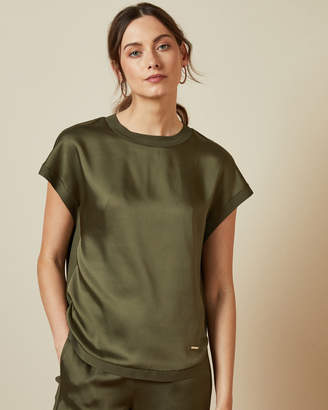 Ted Baker ROZIA Sculpted hem relaxed fit T-shirt