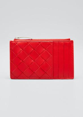 Bottega Veneta Intrecciato Woven Napa Card Case