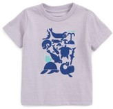Patagonia Infant Girl's Sea Buds Graphic Tee