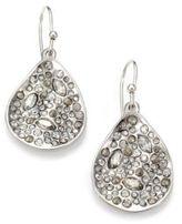 Alexis Bittar Miss Havisham Crystal Drop Earrings/Silvertone