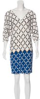 Tibi Printed Shift Dress