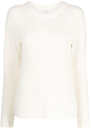 Vince Ribbed Knit Jumper
