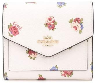 Coach vintage rosebud print wallet