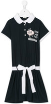 Fendi printed polo dress - kids - Cotton - 3 yrs