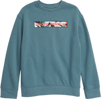 Under Armour Rival Fleece Amp Crewneck Sweatshirt