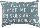 B. Smith Park ''You Are My Sunshine'' 12'' x 18'' Throw Pillow
