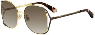 Kate Spade Emyleegs Metal Square Sunglasses