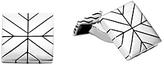 John Hardy Sterling Silver Modern Chain Square Cufflinks