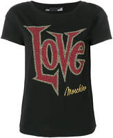 Love Moschino Love studded T-shirt