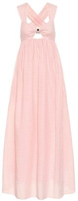 Marysia Swim Exclusive to Mytheresa East Hampton gingham cotton dress