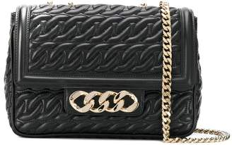 Casadei chain-quilted shoulder bag