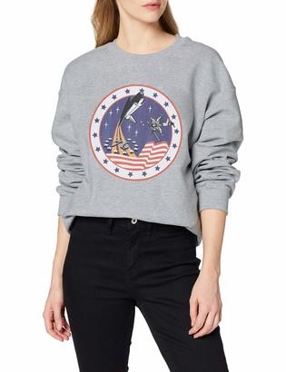 Brands In Limited Women's NASA Rocket 76 Sweatshirt