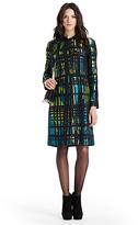 Diane von Furstenberg Amana Two Jacquard Coat