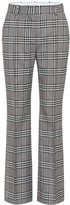 See by Chloe Checked high-rise wide-leg pants