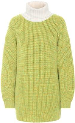 Tibi Tweedy wool oversized sweater